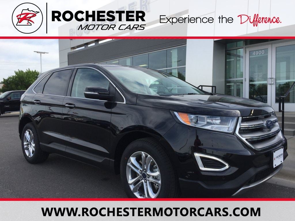 Ford Edge Titanium In Rochester Mn Twin Cities Ford Edge Rochester Ford
