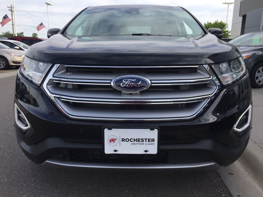 Ford Edge Titanium In Rochester Mn Rochester Ford