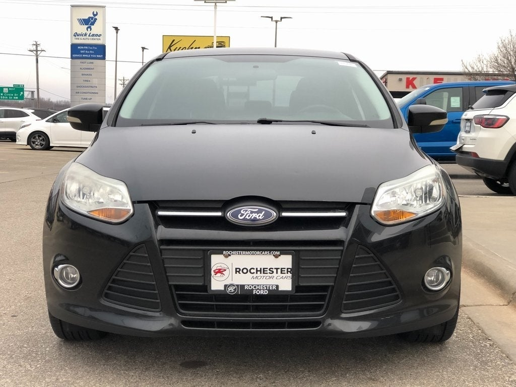 Certified 2014 Ford Focus SE with VIN 1FADP3F21EL175036 for sale in Rochester, Minnesota