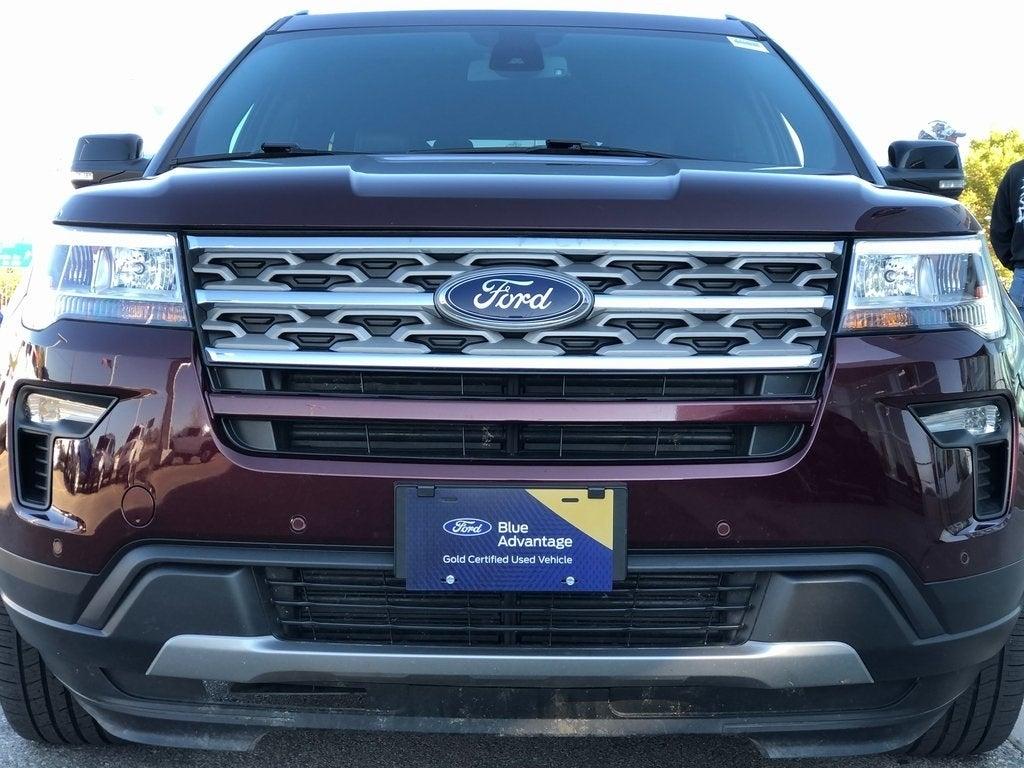 Certified 2018 Ford Explorer XLT with VIN 1FM5K8D8XJGC00239 for sale in Rochester, Minnesota
