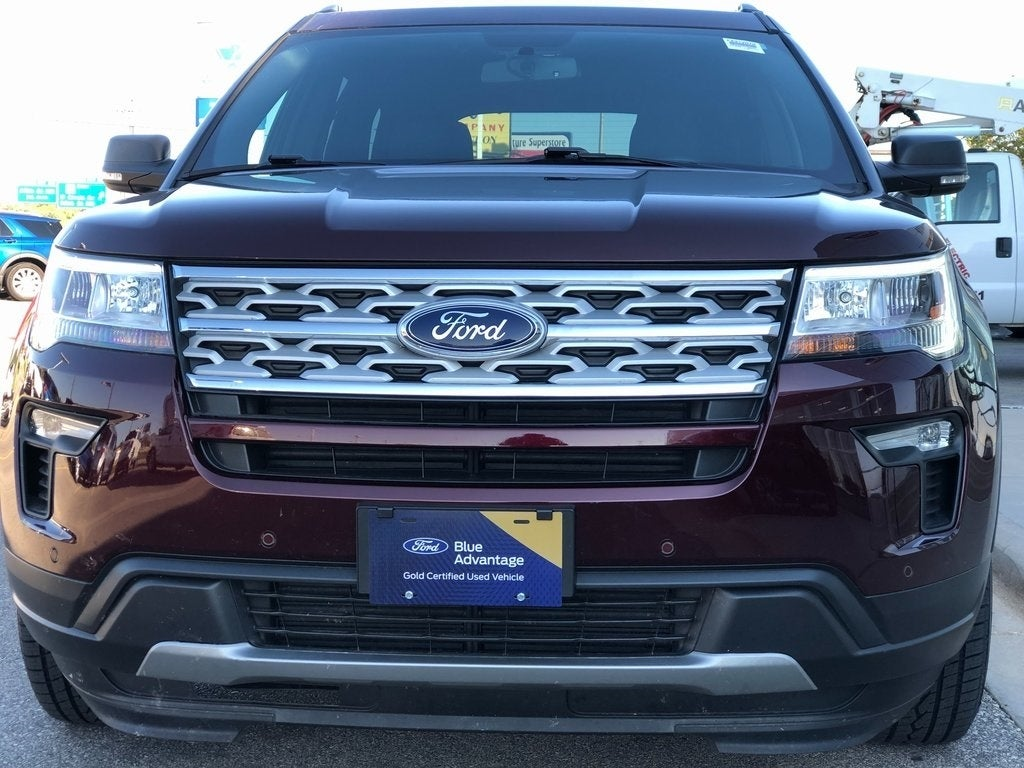 Certified 2019 Ford Explorer XLT with VIN 1FM5K8D8XKGA58802 for sale in Rochester, Minnesota