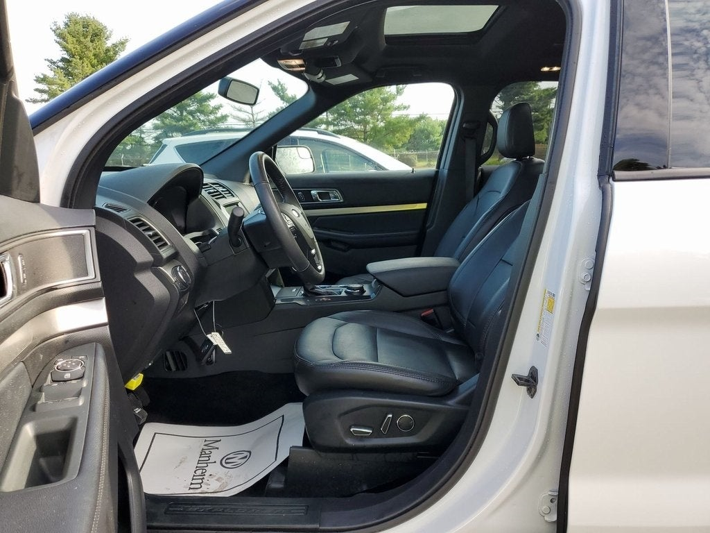 Certified 2018 Ford Explorer Limited with VIN 1FM5K8F84JGB30685 for sale in Rochester, Minnesota