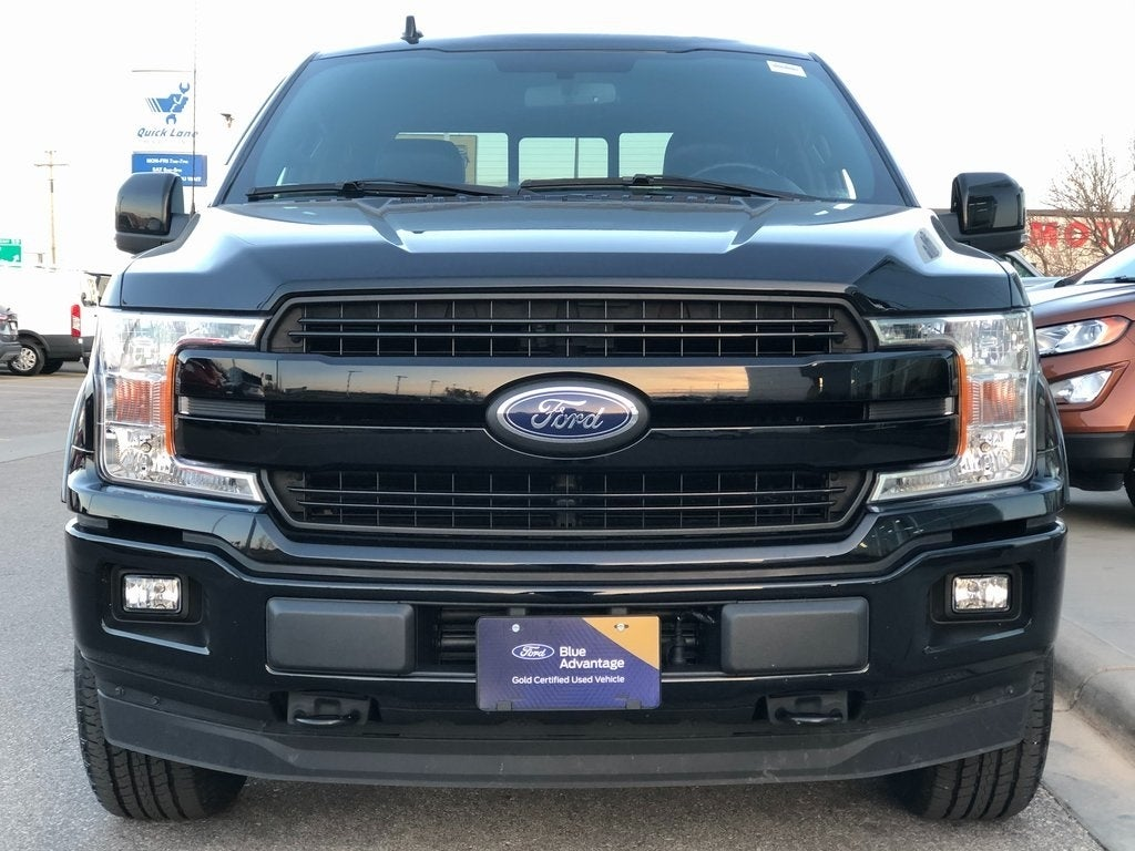 Certified 2018 Ford F-150 Lariat with VIN 1FTEW1EG6JKF78657 for sale in Rochester, Minnesota