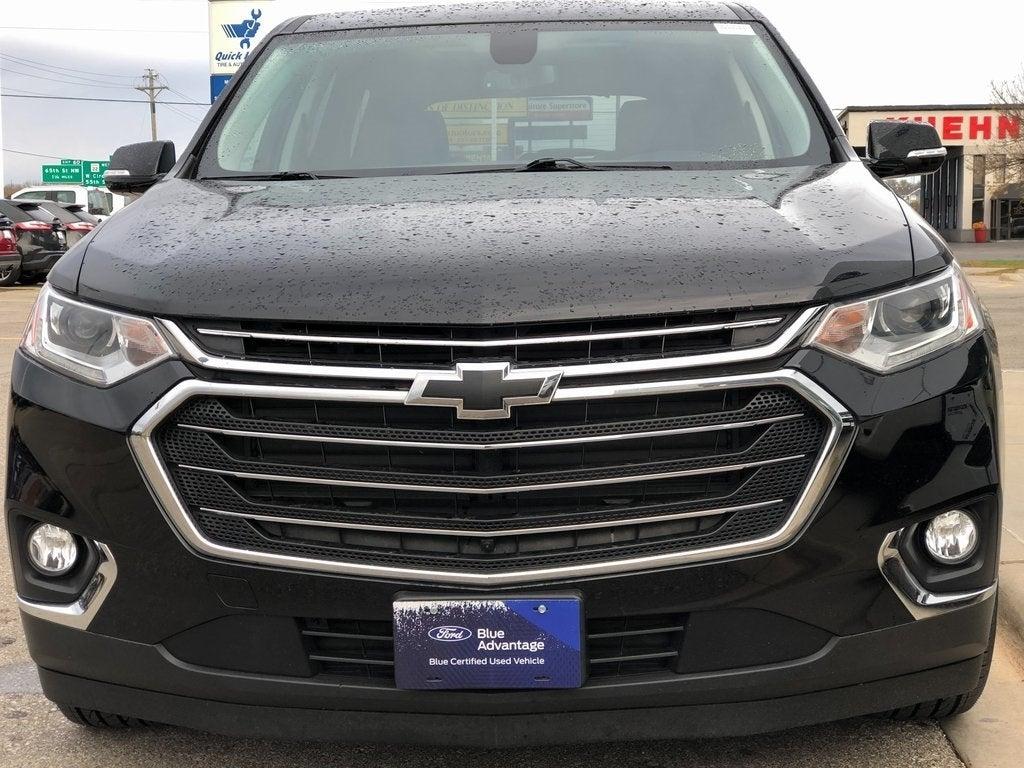 Certified 2019 Chevrolet Traverse 3LT with VIN 1GNEVHKW3KJ245595 for sale in Rochester, Minnesota