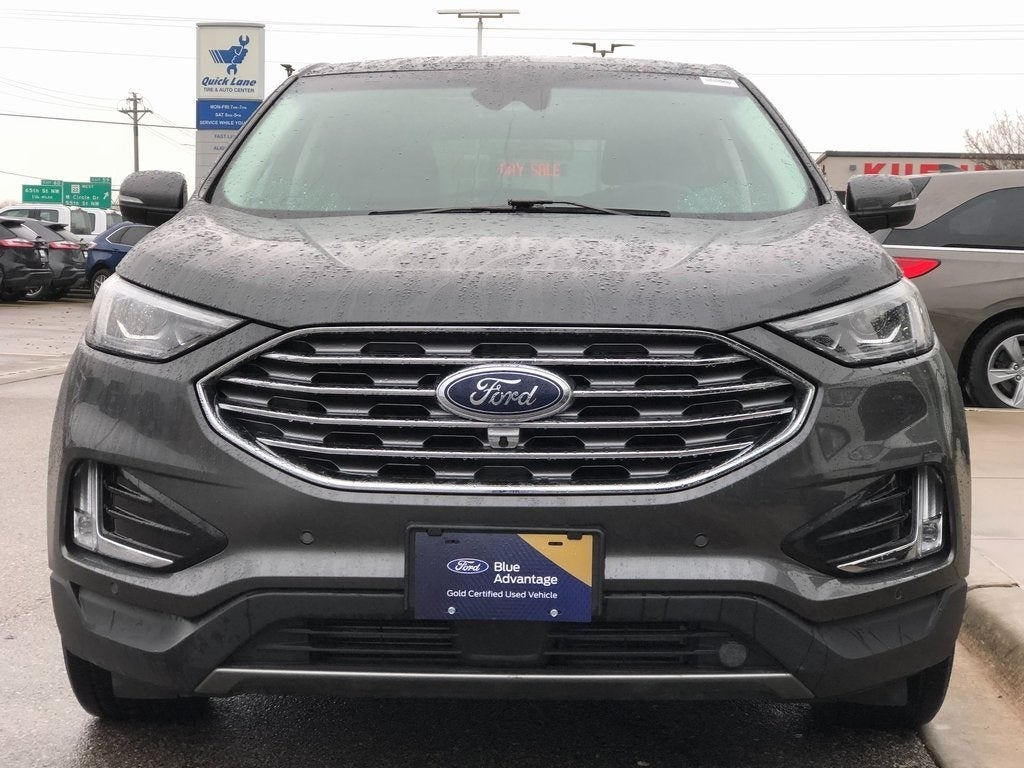 Certified 2020 Ford Edge Titanium with VIN 2FMPK4K96LBA61427 for sale in Rochester, Minnesota