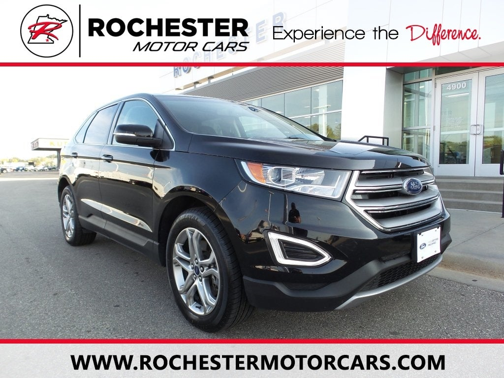Ford Edge Titanium W Heated Seats Sony Sound In Rochester Mn