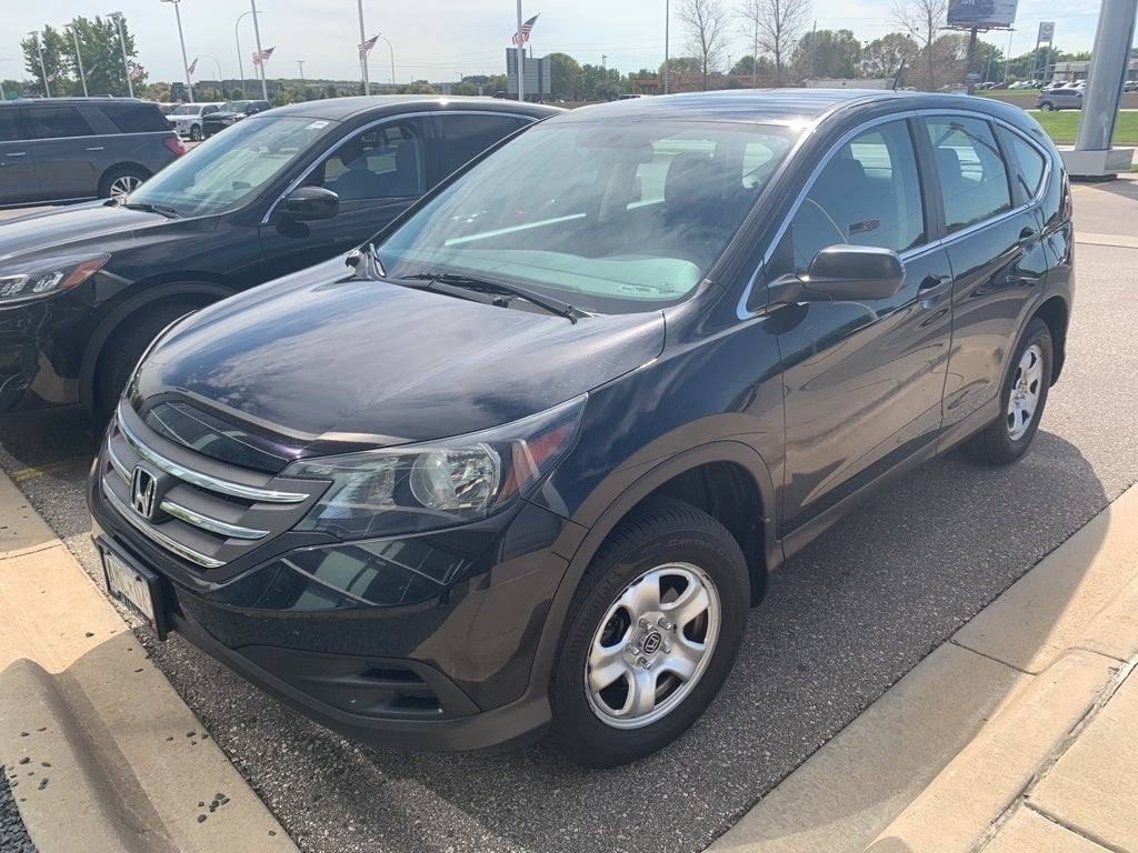 Used 2014 Honda CR-V LX with VIN 2HKRM4H38EH684730 for sale in Rochester, Minnesota
