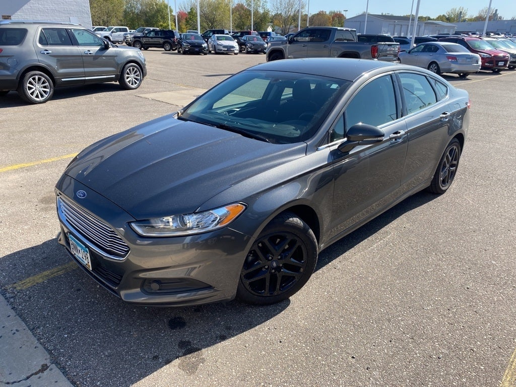 Certified 2016 Ford Fusion SE with VIN 3FA6P0H78GR355991 for sale in Rochester, Minnesota