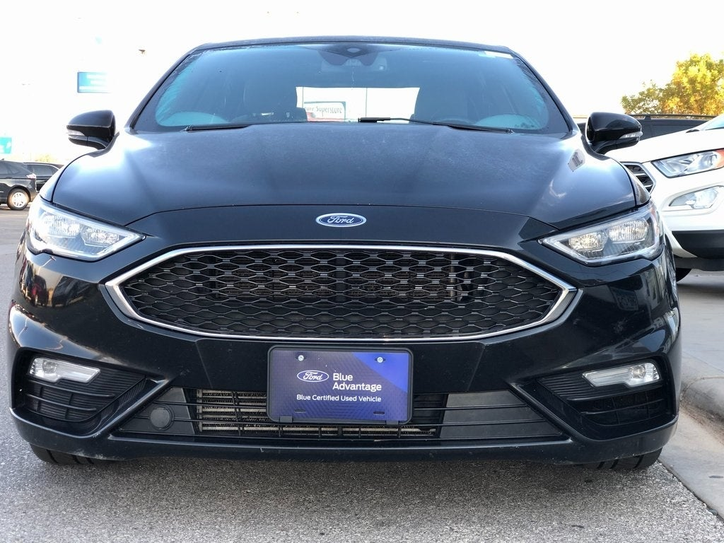 Certified 2017 Ford Fusion V6 Sport with VIN 3FA6P0VP6HR293335 for sale in Rochester, Minnesota
