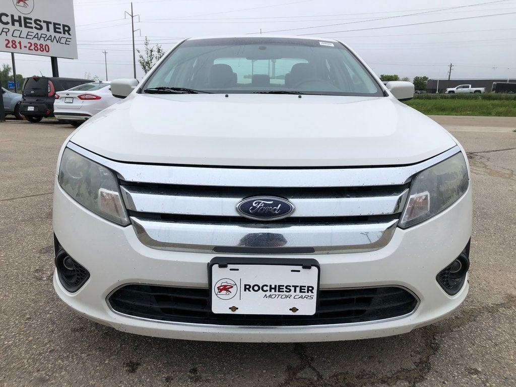 Used 2010 Ford Fusion SE with VIN 3FAHP0HA2AR158035 for sale in Rochester, Minnesota